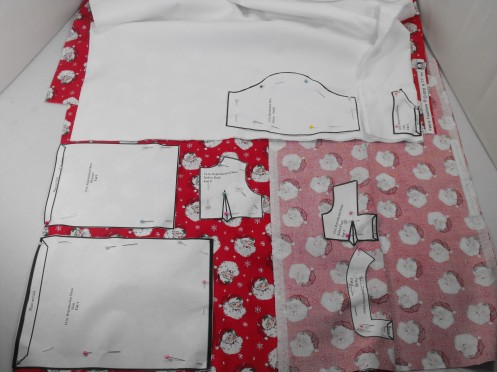 1 cutting out dress